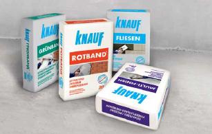 Сухие строительные смеси Knauf
